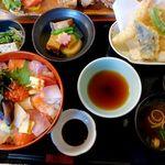 味あい - 海鮮生ちらし寿司御膳~1,380円也