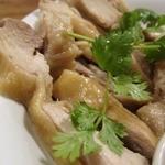 ピーナッツ食堂 - 蒸し鶏