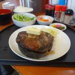 全国珍味・名物 難波酒場 - まぐろステーキ定食