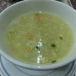 ボンベイ - メニューには載ってなかったけどついてきたスープ