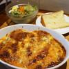 ビストロ ココット - 料理写真:ランチの焼きチーズカレー
