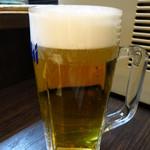 こちら西区高島裏横浜炭焼所 - 生ビール390円