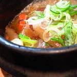 こちら西区高島裏横浜炭焼所 - 牛スジ煮込み480円