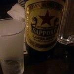 本町ロマンス - ここでもまずは一杯(*^_^*)なんとサッポロです