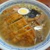 ばんりラーメン - 料理写真:カツらーめん(塩) 750円