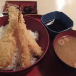ザ・築地 - エビイカ穴子天丼