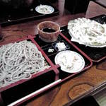 レストランばとう - もり蕎麦にかき揚げ