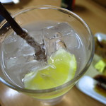 三河屋 - 生レモンサワー340円