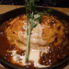 ラケル - 料理写真:ラケル特製煮込みソースのオムライス♪ランチセット(\880)♪
