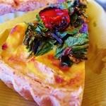 樹の下 - 季節野菜のキッシュ
