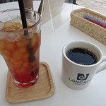 LONCAFE - コーヒーと、ストロベリーティー