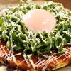 お好み焼 鉄板焼 つる次郎 - 料理写真:とろ卵豚ねぎ焼き