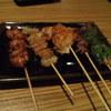 にわ・とりのすけ - 料理写真:炭火焼鳥(おまかせ)