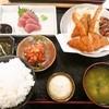 笑多 - 料理写真:ミックスフライ定食