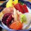 朝寿し柴崎 - 料理写真:刺身ランチ定食の刺身です