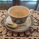 ちゃやまち - 食後はコーヒー、紅茶から選択