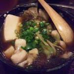 酒肴 でん助 - 肉豆腐