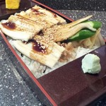 まぐろ茶家 - 穴子丼(1570円)