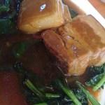 18252235 - 豚の角煮。