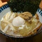 麺や葵 - 特製つけ麺 スープ