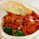 シャン・ドゥ・パン  - カチャトラランチ《鶏肉のトマト煮込み》(\1,000、2013年3月)