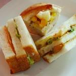 シャン・ドゥ・パン  - ランチはパンが食べ放題(2013年3月)