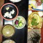 かねしろ亭 - からあげセット(1440円)