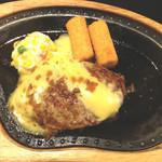 びっくりドンキー - チーズバーグステーキ