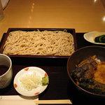 日本そば あけの蕎 - 小天丼セット ¥800