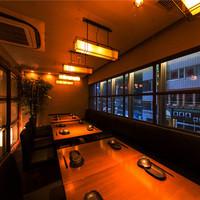 落ち着きのある、風情漂う個室あり。ご予約はお早めに♪