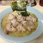ラーメンショップ - 料理写真:Aセット ラーメン+ネギ丼 ¥650   麺中盛り(1.5玉)¥100 チャーシュー増量¥300