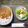 ギャラリー風草 - 料理写真:カレーセット(ドリンク付きで850円)