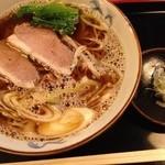 18318515 - 鴨出汁そば(昼750円)
