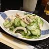 浜千鳥 - 料理写真:塩いかきゅうり