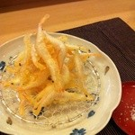 廣寿司 - 白えびから揚げ  甘みがすごい