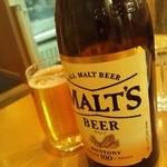ほっと屋 - 瓶ビール(モルツ)550円