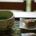三芳家 - 抹茶(630円)