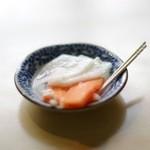 三芳家 - 口直しのお漬け物