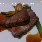 高崎モノリス - 香ばしく焼き上げた赤城豚と茸の子のロティソースシャスール