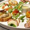 ピエモンテ - 料理写真:目にも鮮やかなアンティパスト