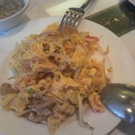 18358441 - 蟹と卵ともやしの炒め物