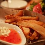 anea cafe - サワークリームがおいしいフレンチフライ