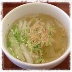 ニロ カフェ - スープ。あったかい☆