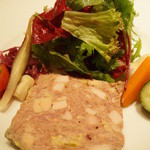 ルカンケ - パテ・ド・カンパーニュ ギリシア風野菜のマリネ(1000円)