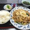天津園 - 料理写真:焼そば定食 700円
