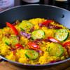 VAMOS - 料理写真:サラミのサフラン風味