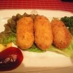 洋食 キムラ - カニクリームコロッケ