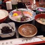 代官山 やまびこ - 刺身定食1,000円