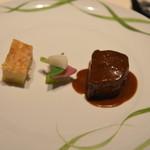 レ ロジェ エギュスキロール - 特選牛フィレ肉のソテー