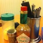 スパゲッティキング - お箸も用意されてます